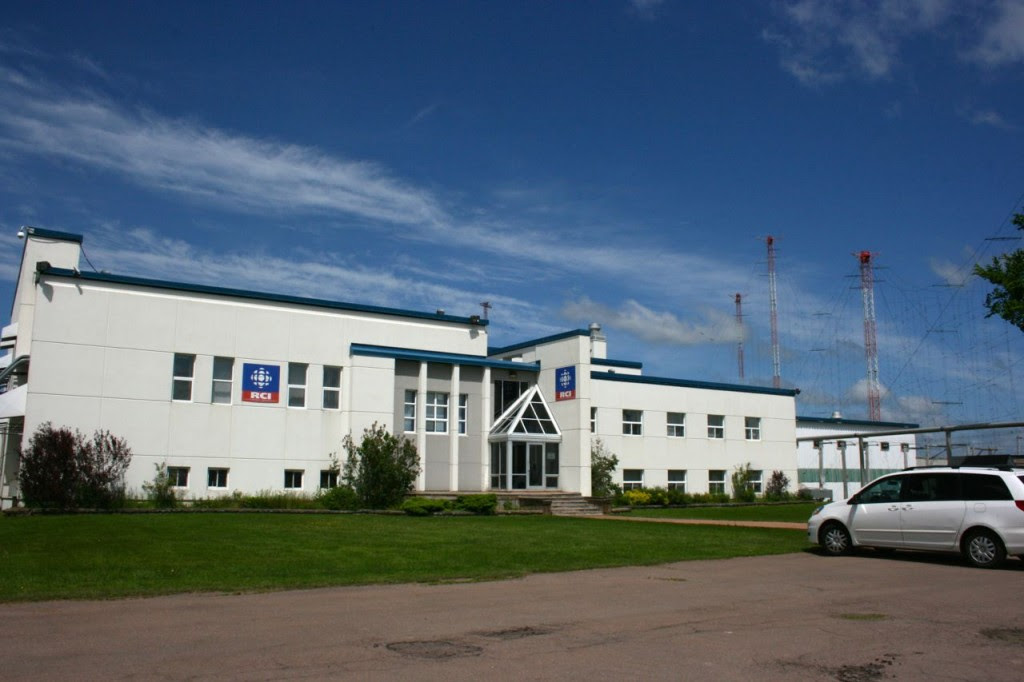 O edifício transmissor da Radio Canada International, Sackville, NB.