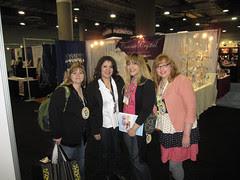 CHA Day 3: Ana, Susie, Me and Julie! 2