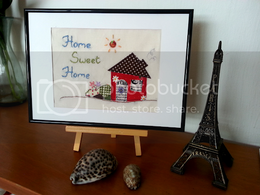 Tutorial: Home Sweet Home (with Embroidery and Applique)