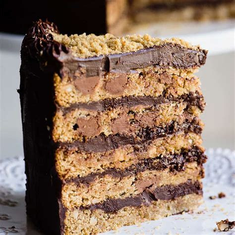 Oatmeal Chocolate chip, Macadamia nut cookie cake with