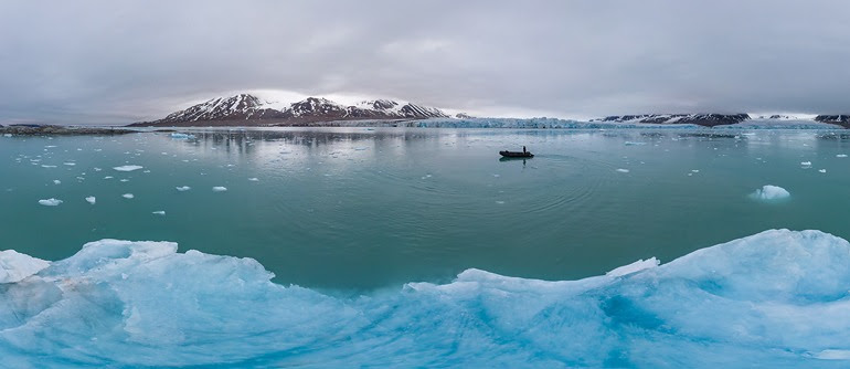 Svalbard (Spitsbergen), Norway - AirPano.com • 360° Aerial Panoramas • 3D Virtual Tours Around the World