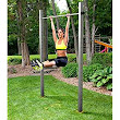 Outdoor gymnastic bar