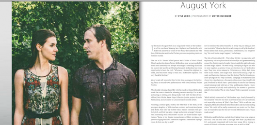 August York – Mckendree & Rachel Tucker – Golden Isles Magazine – Noisemakers Feature