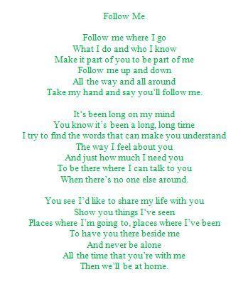 Lyrics to a popular song sung at Kappa Delta weddings