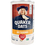 Quaker Oats Heart Healthy Old Fashioned Oats - 42oz