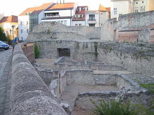 Sopron - Roman ruins