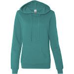 Independent Trading Co. Ss650 Juniors' Lightweight Pullover Hooded Sweatshirt