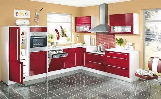 Sample L Shaped Kitchen Design | Interior Beauty