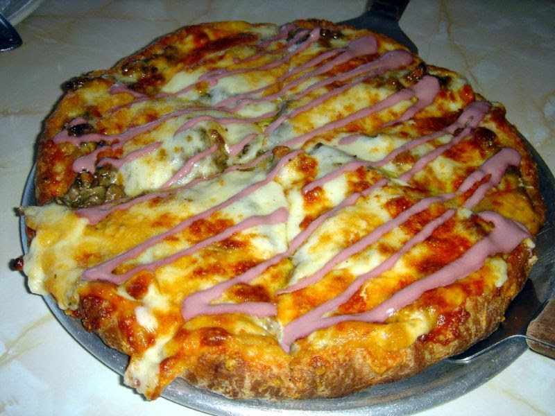For the Love of Mushroom Pizza!