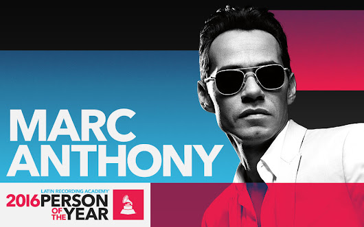 Marc Anthony named 2016 Latin Recording Academy® Person of the Year