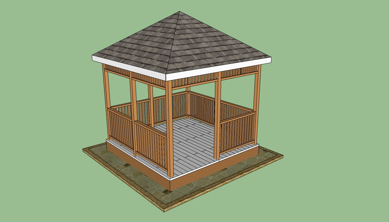 Wooden Gazebo Plans | HowToSpecialist - How to Build, Step by Step ...