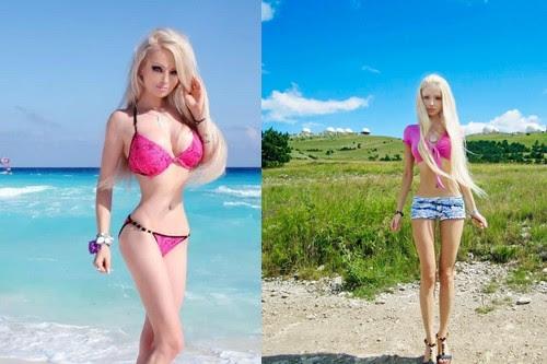 Valeria Lukyanova Real Life Barbies