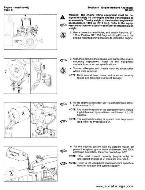 Cummins Big Cam III and Big Cam IV NT855 Diesel Engine PDF