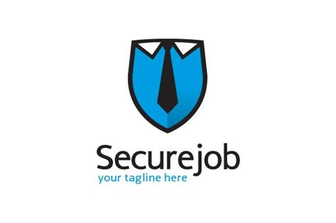 secure job logo template design logo templates