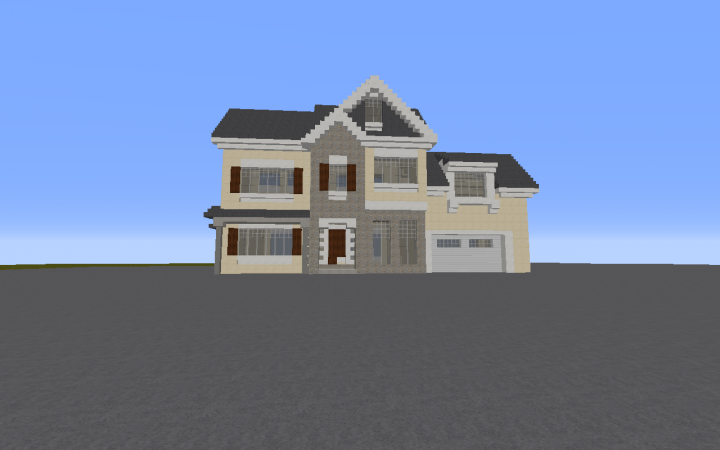 2 Story house Minecraft Project