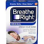 Breathe Right Nasal Strips, Tan, Large - 30 count