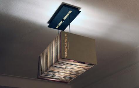 Book Lamp. Designed by Ragip Erdem.