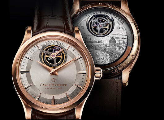 Carl F. Bucherer Heritage Tourbillon Double Peripheral Limited Edition Watch