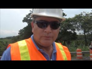 Iniciarán estudios para arreglo de puente en Suiza de Turrialba, indicó Cristian Vargas, del CONAVI.