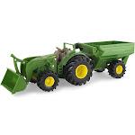 Ertl John Deere Monster Treads Tractor with Wagon Loader