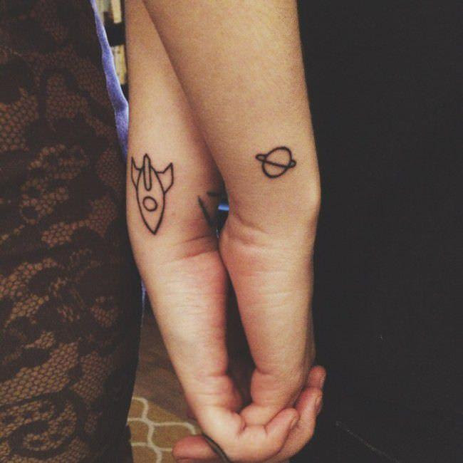 Matching Tattoo Trend: Try these adorable ideas and get ...