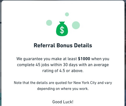 Get $1000 Bonus After 45 Postmates Deliveries in 30 days (New Courier Bonus in New York City) - The Reward Boss