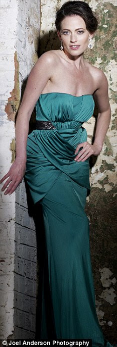 Doing the Splits: Lara Pulver who has separated from husband Joshua Dallas