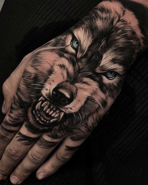 animal tattoo designs brilliant hand tattoos men