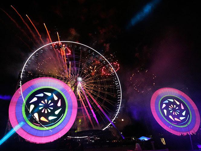 La rueda es conocida como Estrella de Puebla