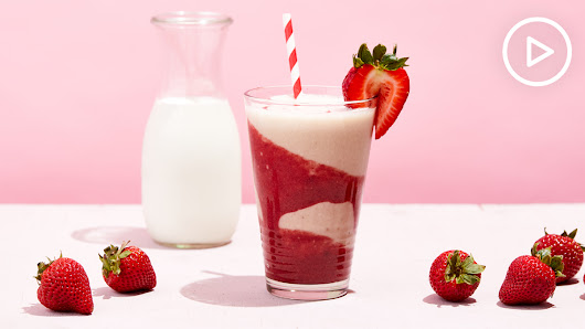 Strawberries and Cream Smoothie Recipe - Thrive Market