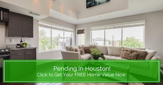 Another Home Pending Sale in Houston!