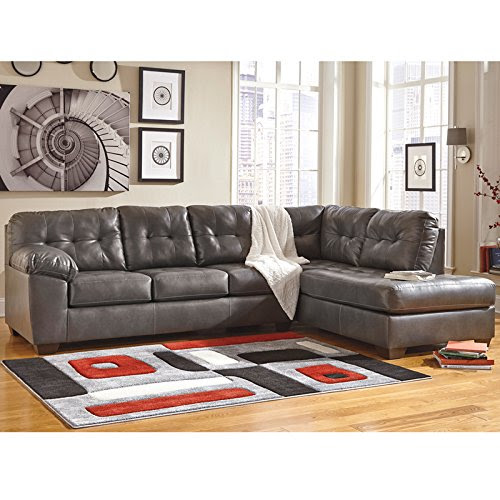 Flash Furniture Signature Design By Ashley Alliston Sectional With