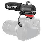 Saramonic SR-PMIC1 Super-Cardioid Unidirectional Mic Red