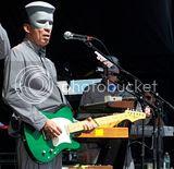 Devo guitarist rocks
