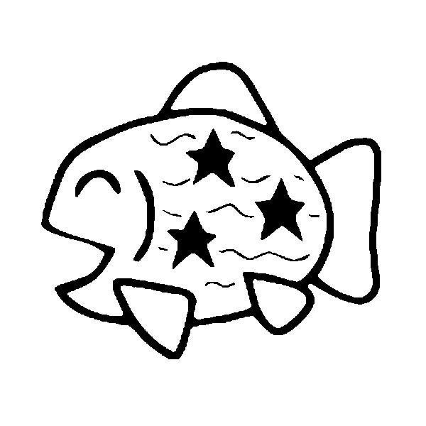 Disegno Da Colorare Pesce Daprile 4
