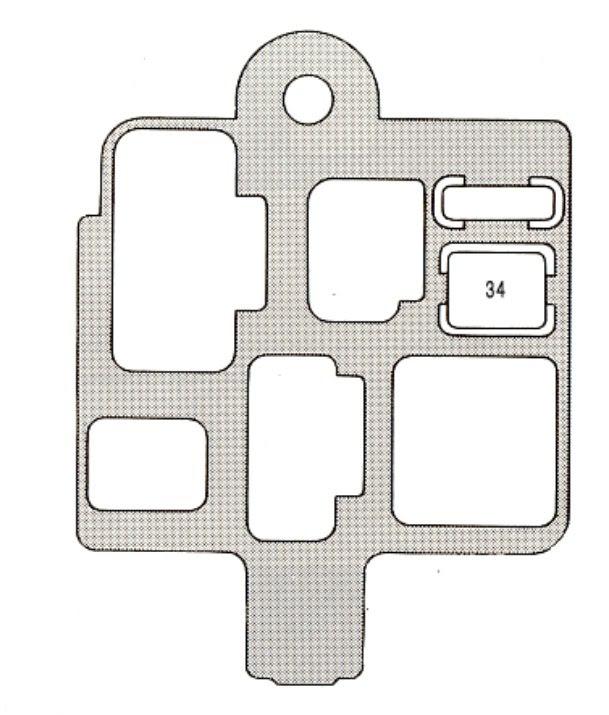 1996 Lexu Es300 Fuse Box Diagram
