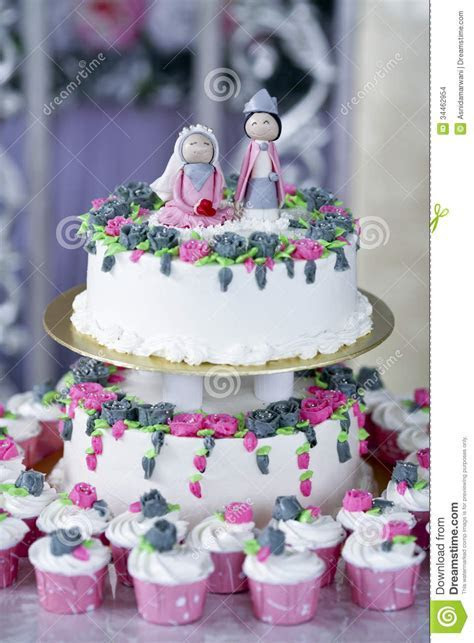 Wedding cake stock photo. Image of cake, bakery, love