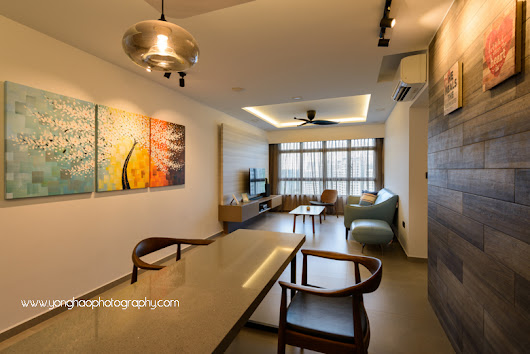 Interior Photography of Residential unit for Sky Design & Renovation