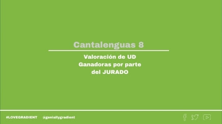 Cantalenguas 8 UD Ganadoras by TRINIDAD on Genially