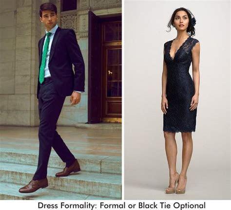 Formal or Black Tie Optional Wedding Guest Attire   My