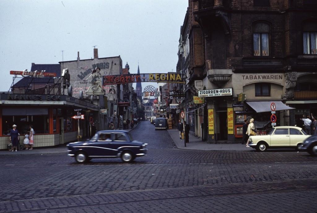 Reeperbahn en 1960
