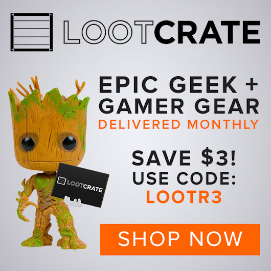 Frugalicious Marie: Subscribe to LootCrate and save $3!