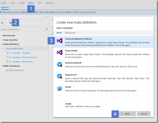 Continuous Mobile Deployment with VSTS – Part 2