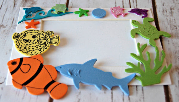 Under The Sea Themed Photo Frame Craft Kit We Bring The Party