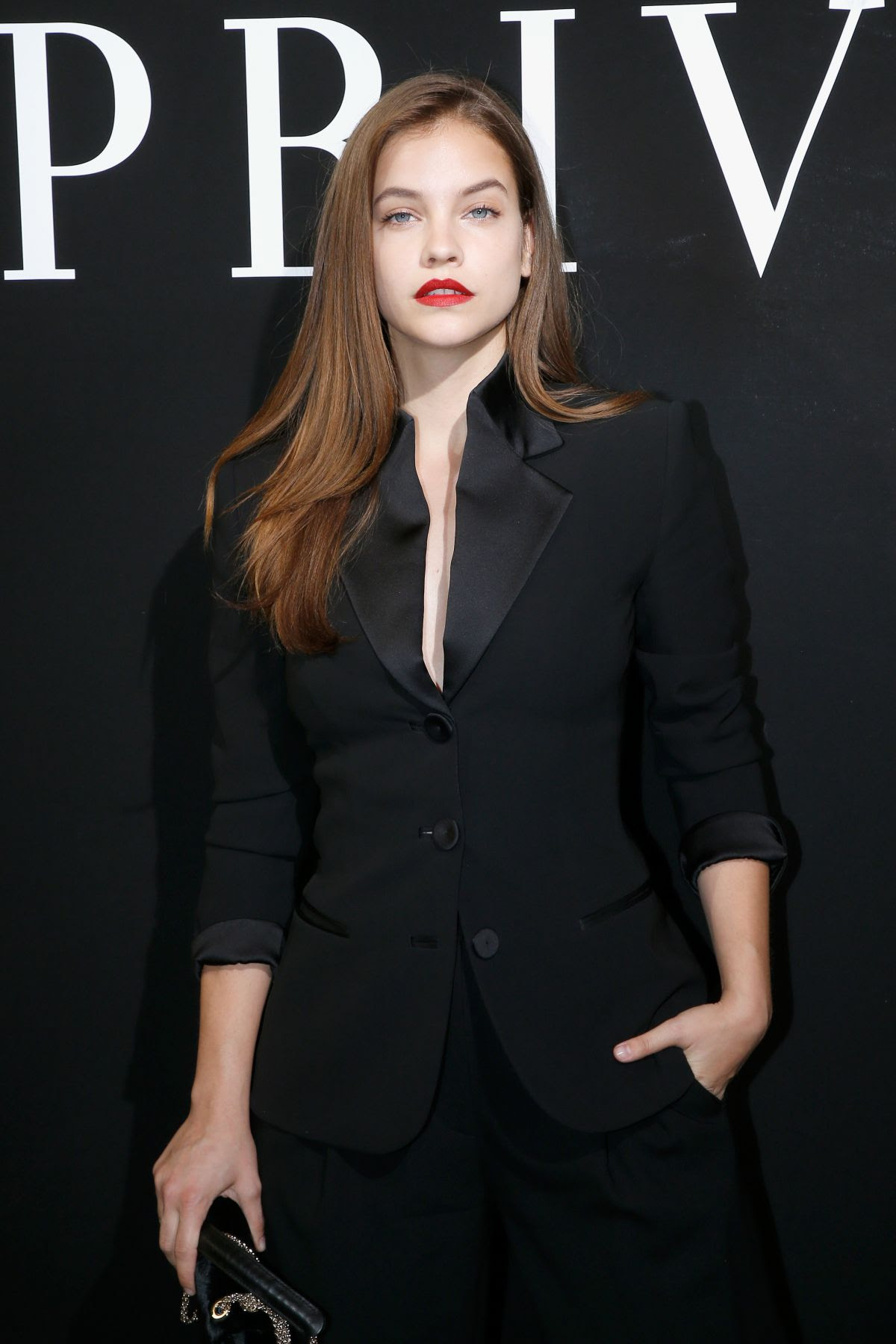 BARBARA PALVIN at Giorgio Armani Prive Haute Couture Show in Paris 07/04/2017