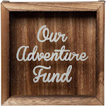 Shadow Box Bank - Wooden Adventure Fund Shadow Box, Adult Piggy Bank, Money Saving Bank, for Travel Vacation Honeymoon Graduation Trip Fund, Our