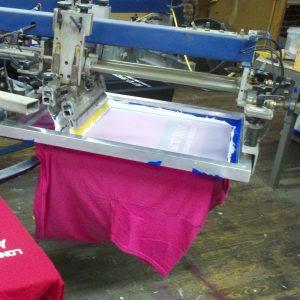 Screen printing t shirts