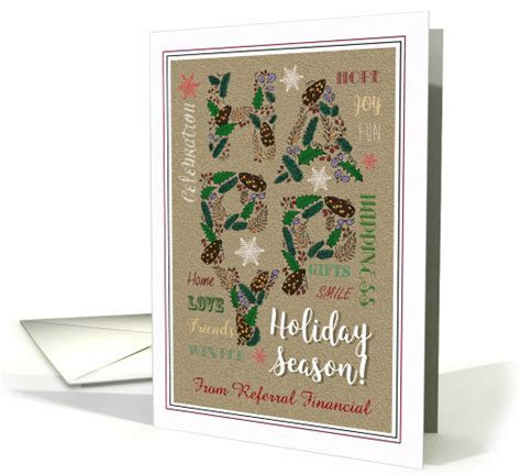 Happy Holidays   Generic Holiday Season Wishes for clients