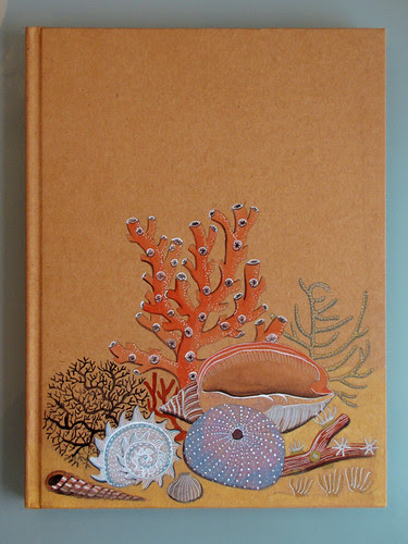 Sketchbook cover in color