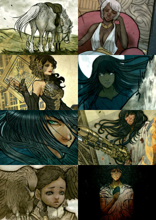 "Monstress #1 ""There's more hunger in the world than love. """